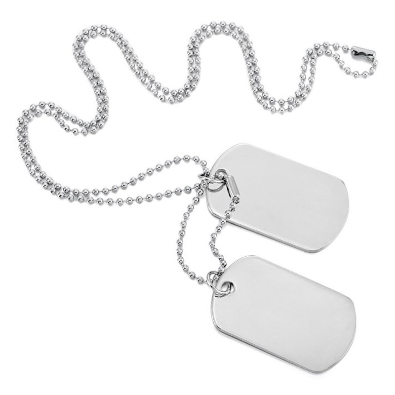 800x800 Military Dog Tag Necklace Wholesale Military Dog Tag Necklace