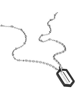 240x320 Diesel Dx0302 Men's Sunstray Dog Tag Necklace Jewelry