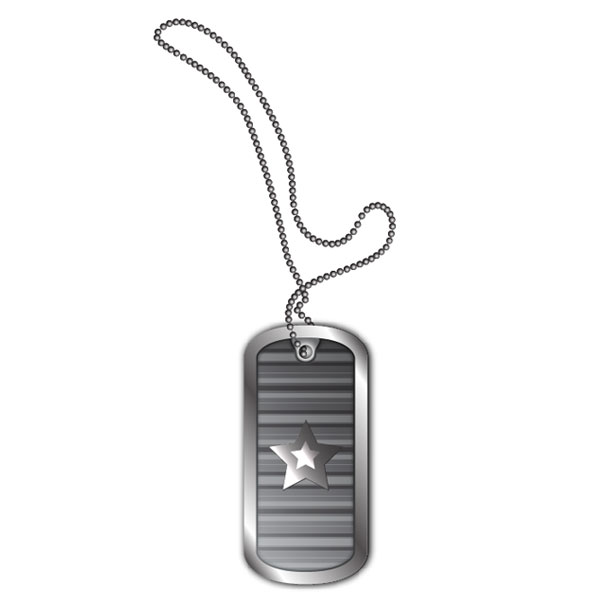 600x600 Create Stylized Vector Dog Tags