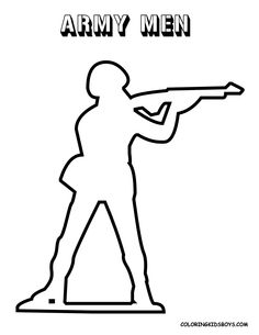 236x305 Drawn Men Military