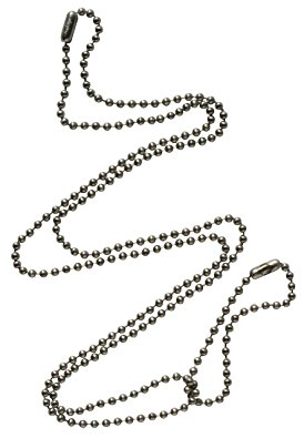 274x395 Set Of Replacement Chains For Army Dog Tags Amazon.co.uk Jewellery