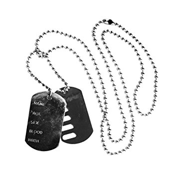355x355 Army Dog Tags Perfect For Soldier Military Army Fancy Dress