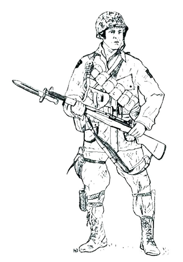 Military Drawing