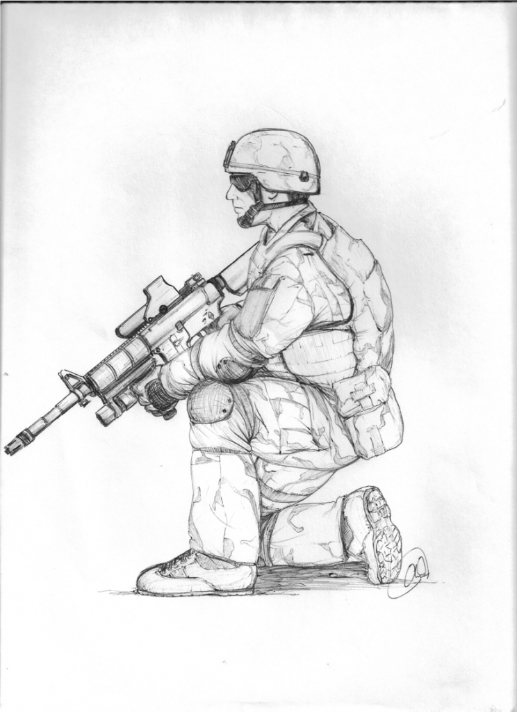 744x1024 Ideas Of Draw Military Soldiers 1000 Images About Drawings