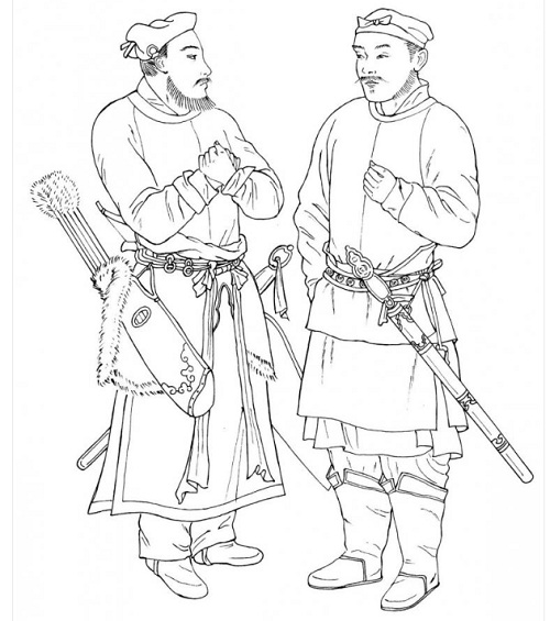 500x565 Song Dynasty Military Men Clothing Sca Chinese Garb