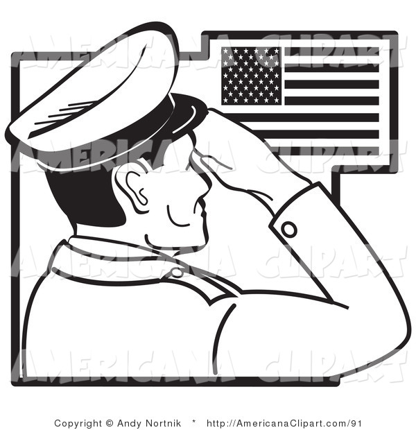 600x620 Americana Vector Clip Art Of A Coloring Page Of A Military Man