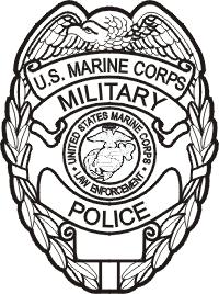 200x268 Military Police Badge