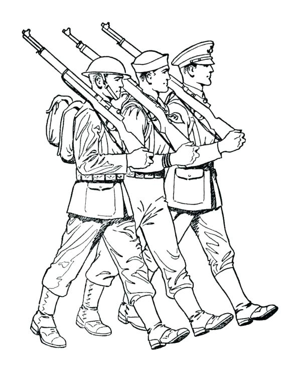 600x734 Military Coloring Page Military Coloring Page Military Coloring