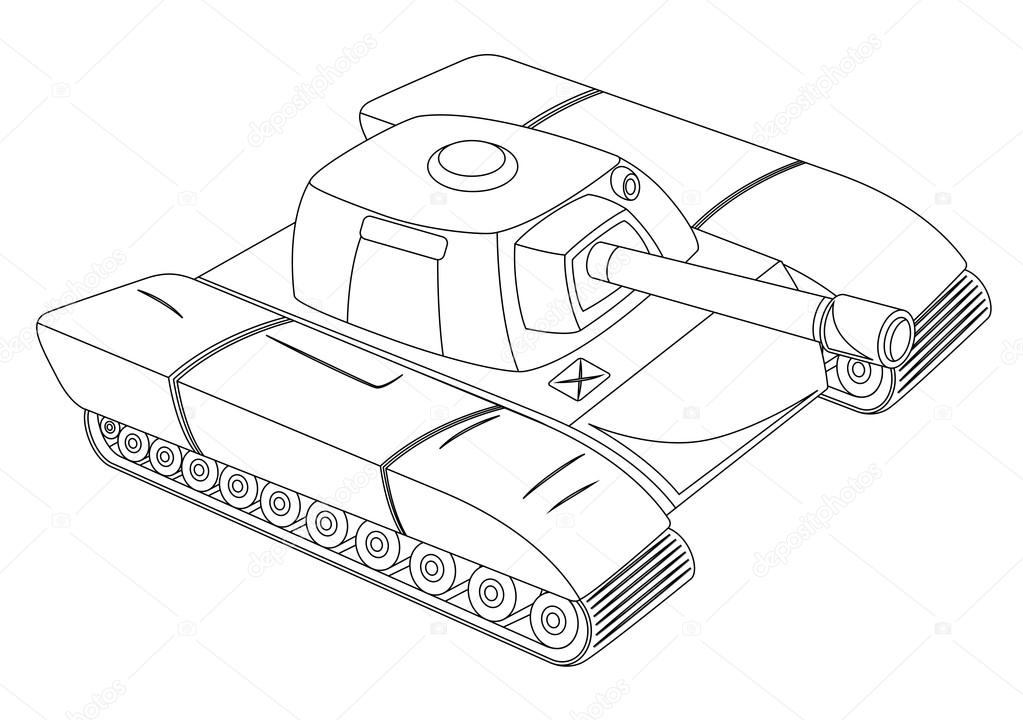 1023x720 Tank Shape Stock Vector Baavli