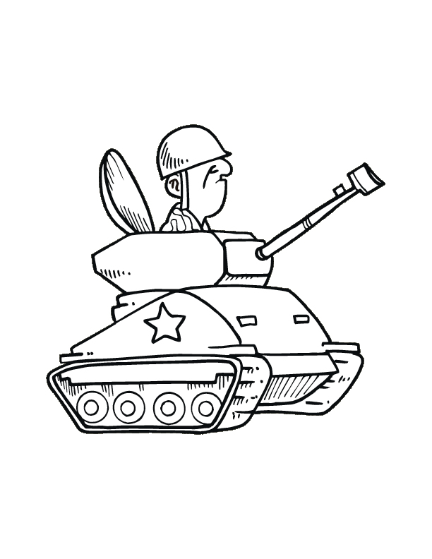 612x792 Tanks Coloring Pages