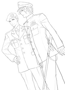 216x300 How To Draw Military Uniform `united States Armed Forces,jsdf
