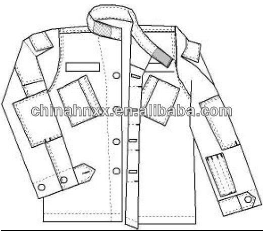 521x458 Image Result For Us Army Bdu Uniform Sewing Pattern Military