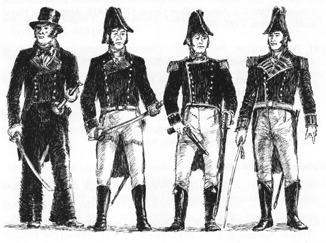 640x477 Sketch Naval Officers In Uniform Nation Sketches