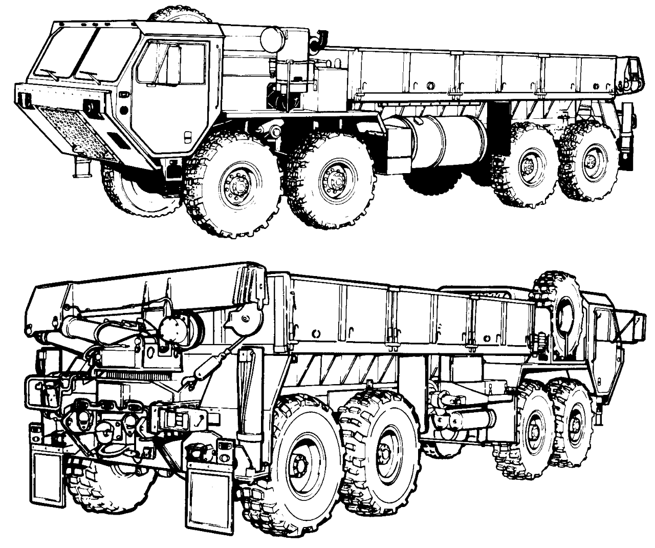 1280x1070 M977 Heavy Expanded Mobility Tactical Truck (Hemtt)