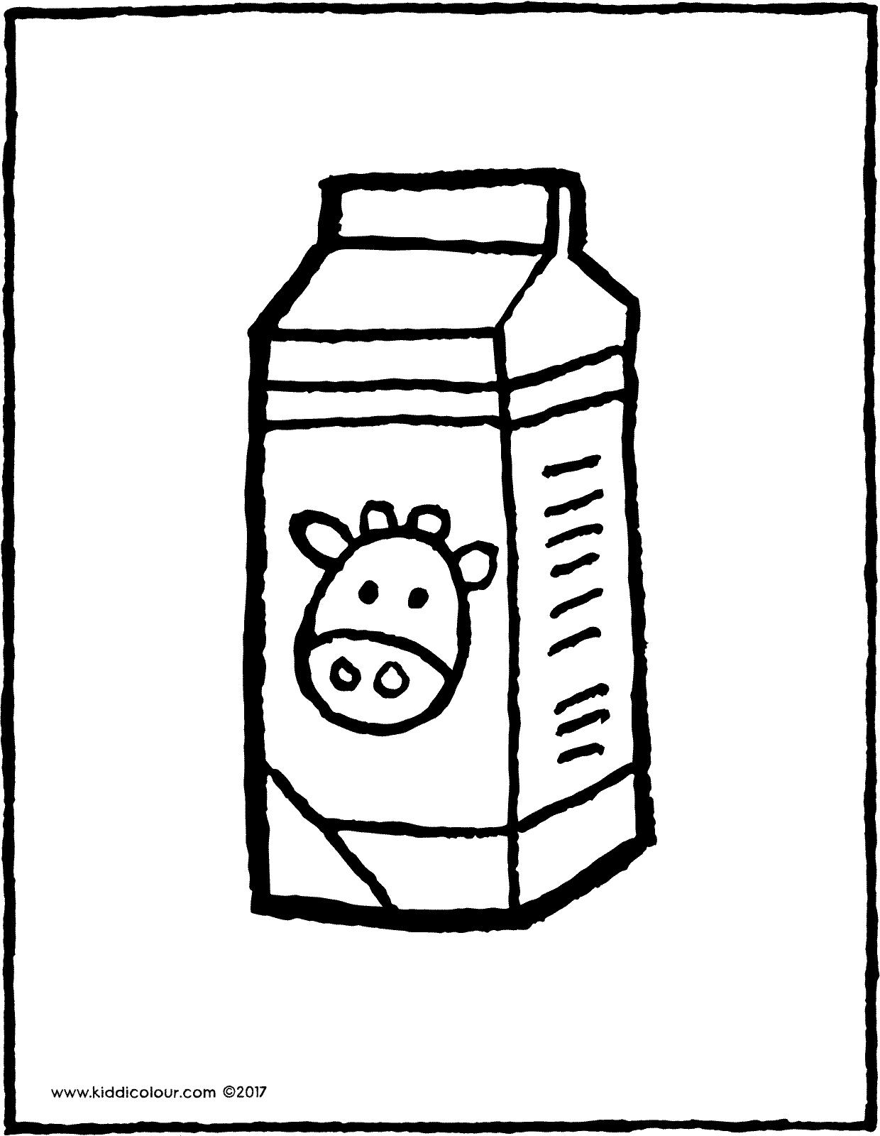 Milk Carton Drawing at GetDrawings.com   Free for personal use Milk ...