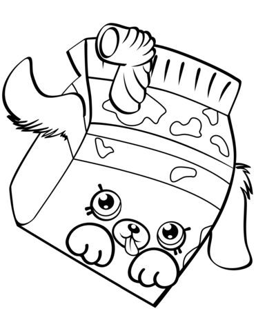 371x480 Milk Bud Shopkin Coloring Page Free Printable Coloring Pages