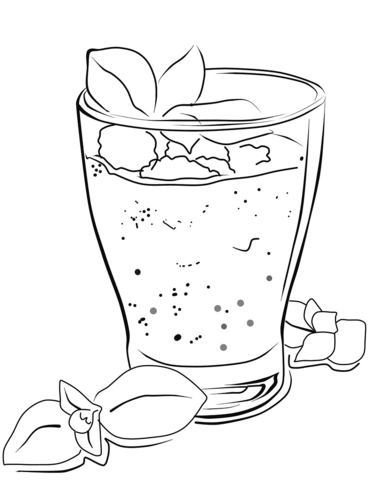 371x480 Smoothie Coloring Page Free Printable Coloring Pages