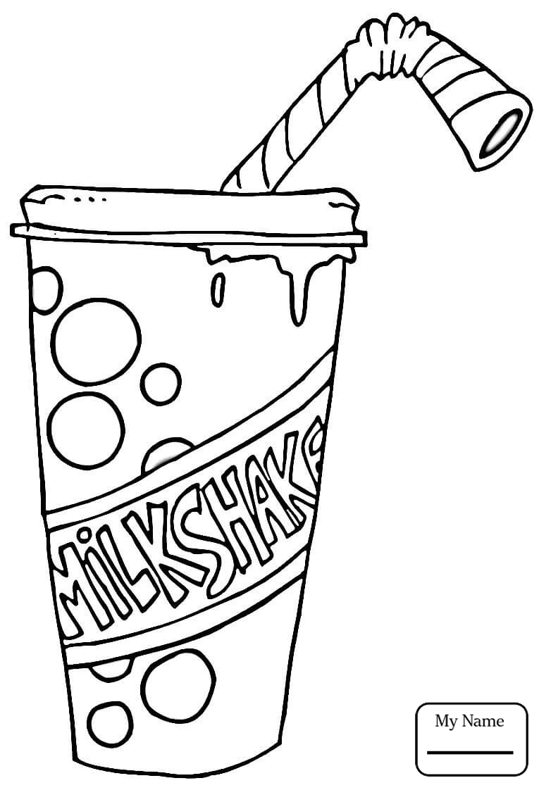 Milkshake Drawing at GetDrawings.com | Free for personal ...