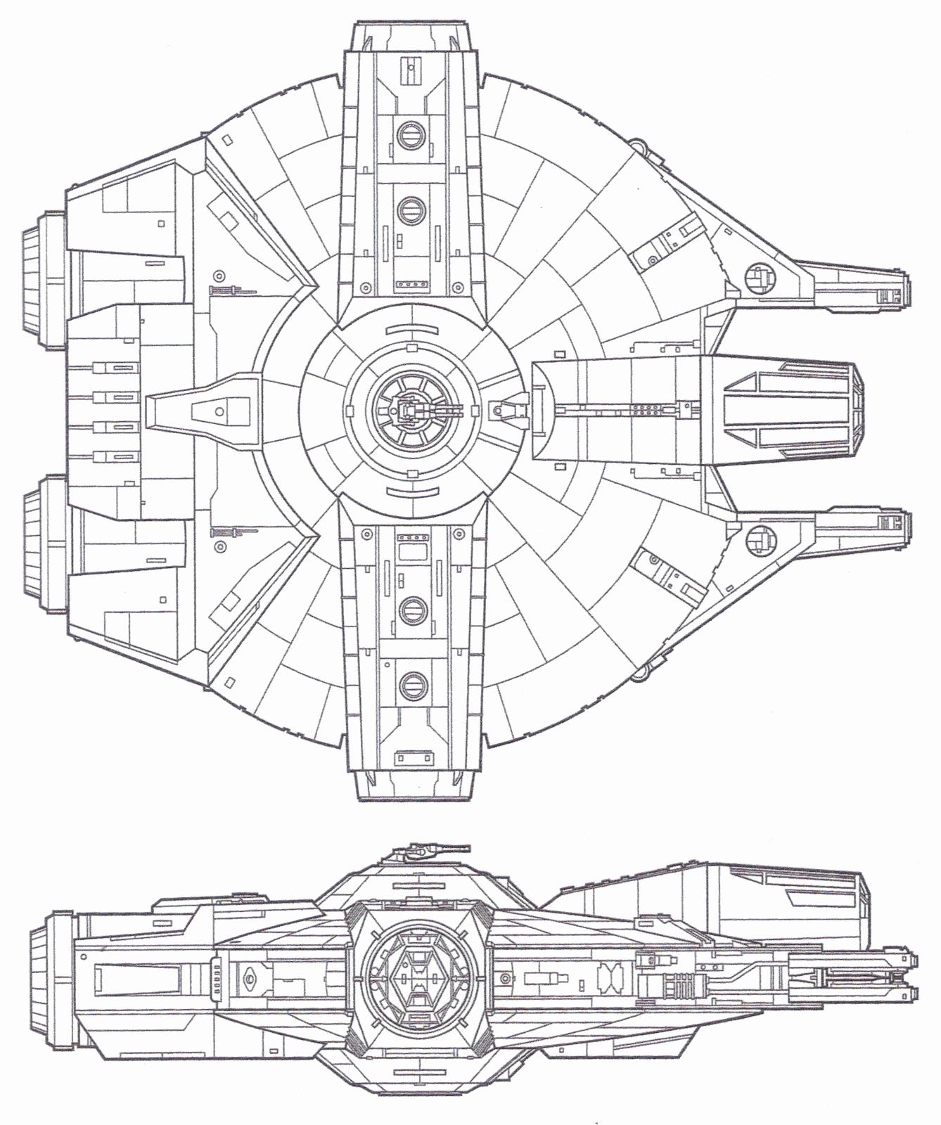 1338x1600 Millennium Falcon Floor Plan Lovely Gattaca Models And Props