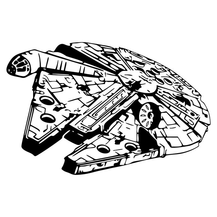 690x690 Star Wars Millennium Falcon