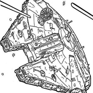Millennium Falcon Drawing At Getdrawings Com Free For Personal Use