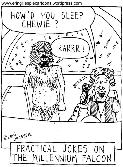 500x674 Star Wars Erin Gillespie Cartoons