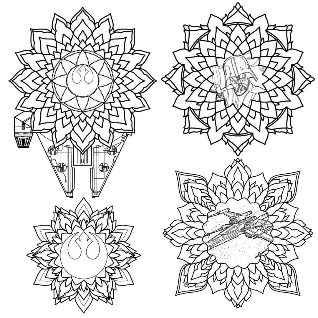 1080x1080 Art Amp Tattoos By Me. 4 Available Star Wars Mandalas. Prices