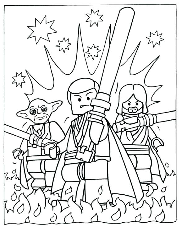 587x730 Coloring Page Star Wars Millennium Falcon Lots Of Star Wars