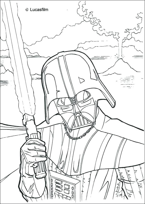 607x850 Coloring Pages For Star Wars Millennium Falcon Close Up A Star