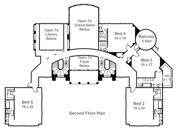 600x438 Plans For Million Dollar Homes