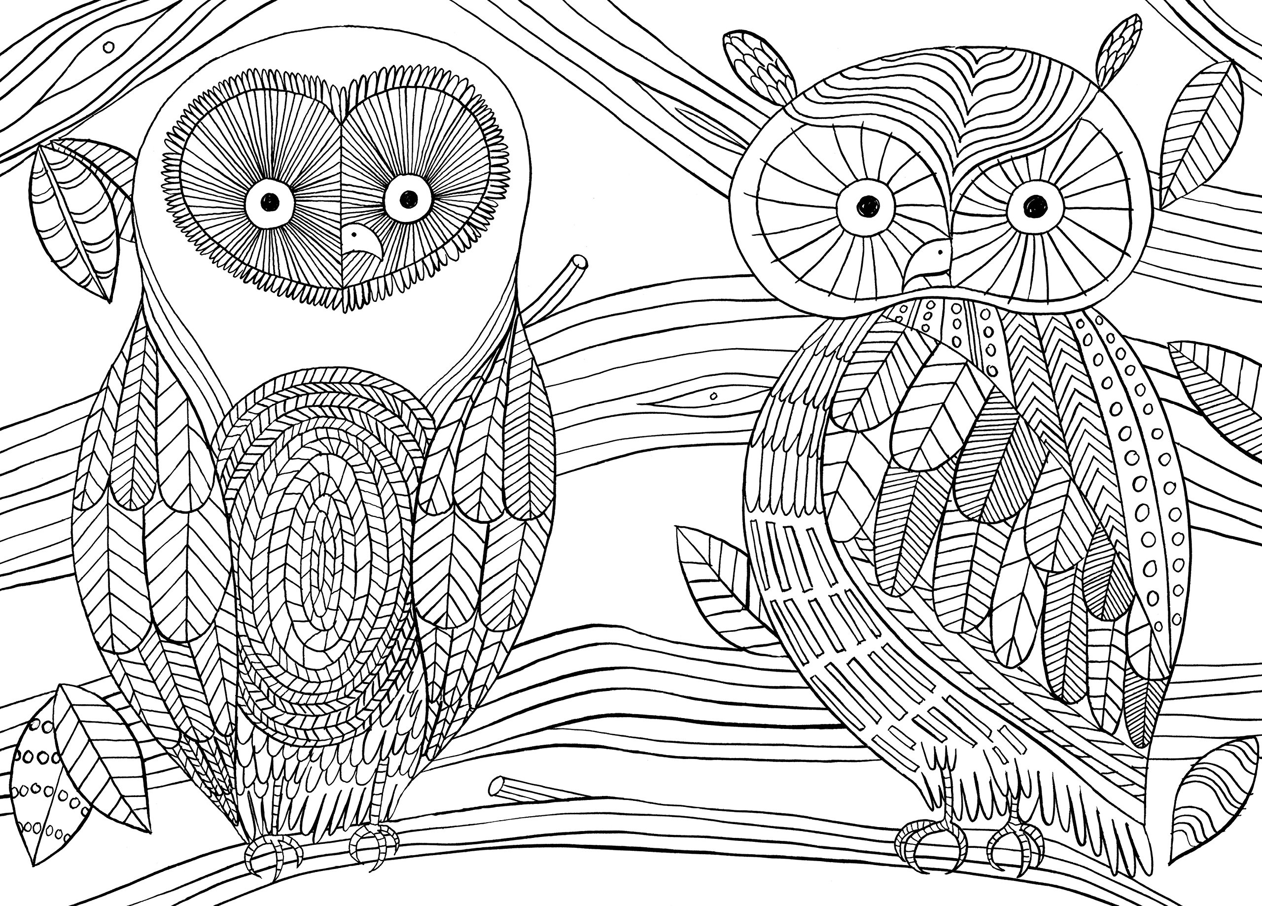 Mindfull Coulouring - Free Coloring Pages