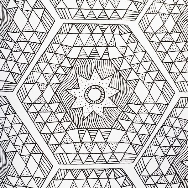 600x600 Mindfulness Colouring Sheets