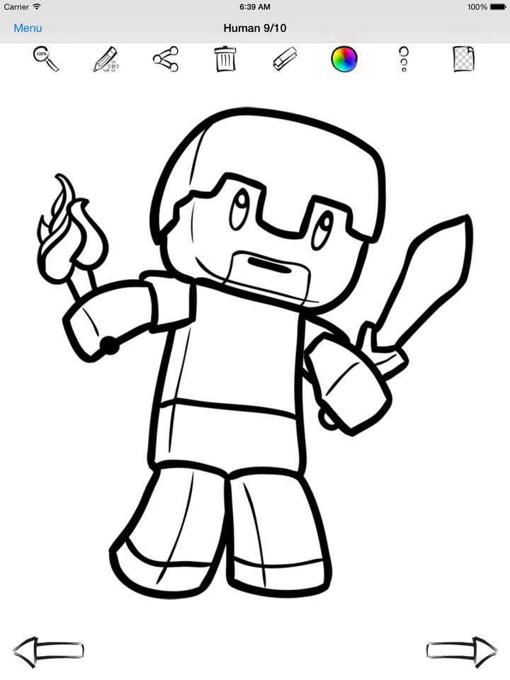 720x960 Let's Draw For Chibi Minecraft Volume Apps 148apps