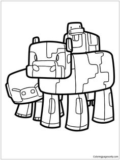 236x313 Minecraft Skeleton Shooting Bow And Arrow Coloring Page.gif (670