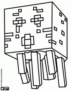 236x300 Skeleton And Arrow From Minecraft Game Coloring Page Minecraft