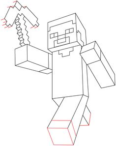 236x297 Realistic Minecraft Drawings