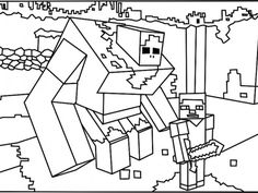 236x177 Minecraft Alex Super Coloring Coloring Pages