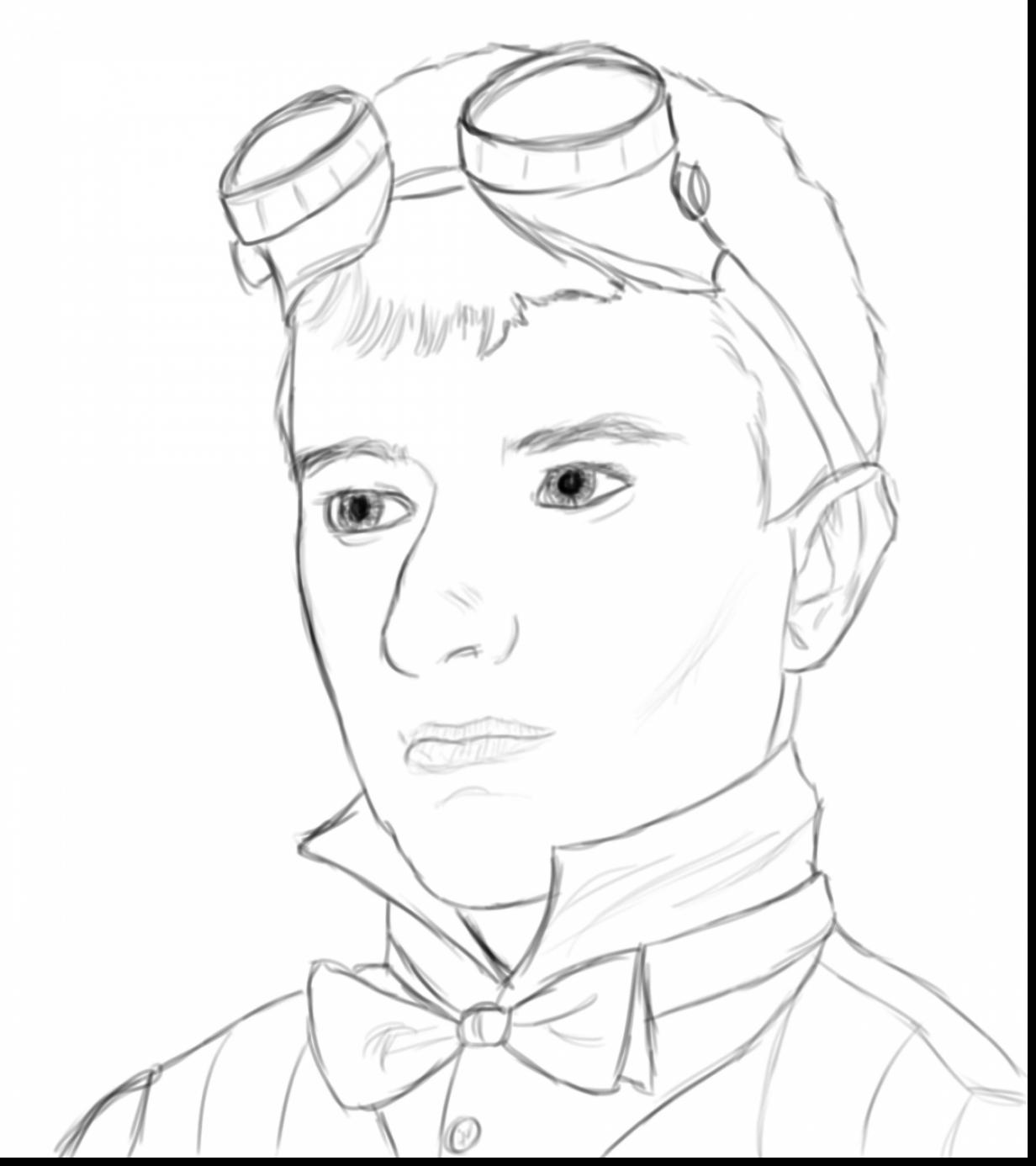 1232x1386 Minecraft Dantdm Coloring Pages