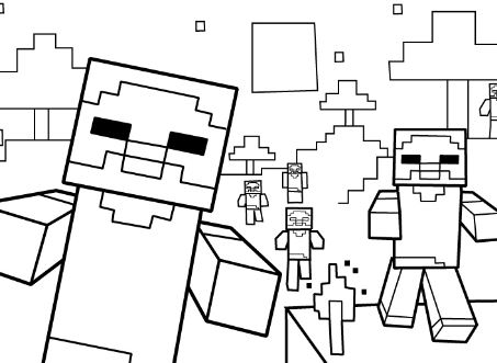 Minecraft Deadlox Drawing At Getdrawings Com Free For