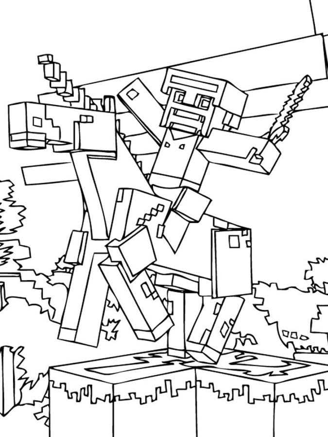 675x900 Ausmalbilder Steve 1084 Malvorlage Minecraft Ausmalbilder