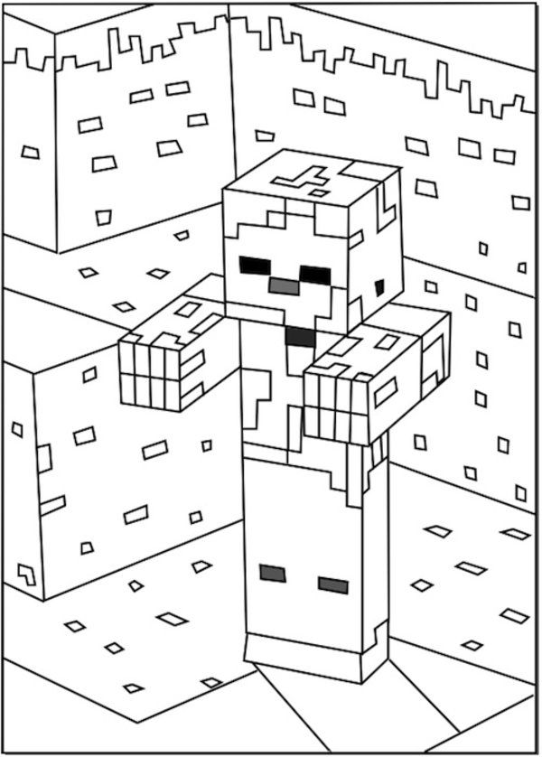 Minecraft Diamond Drawing