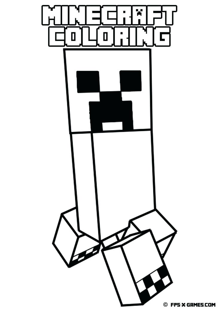 736x1041 Diamond Coloring Pages Minecraft