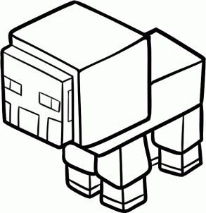 293x302 Minecraft Zombie Coloring Pages Coloring Pages