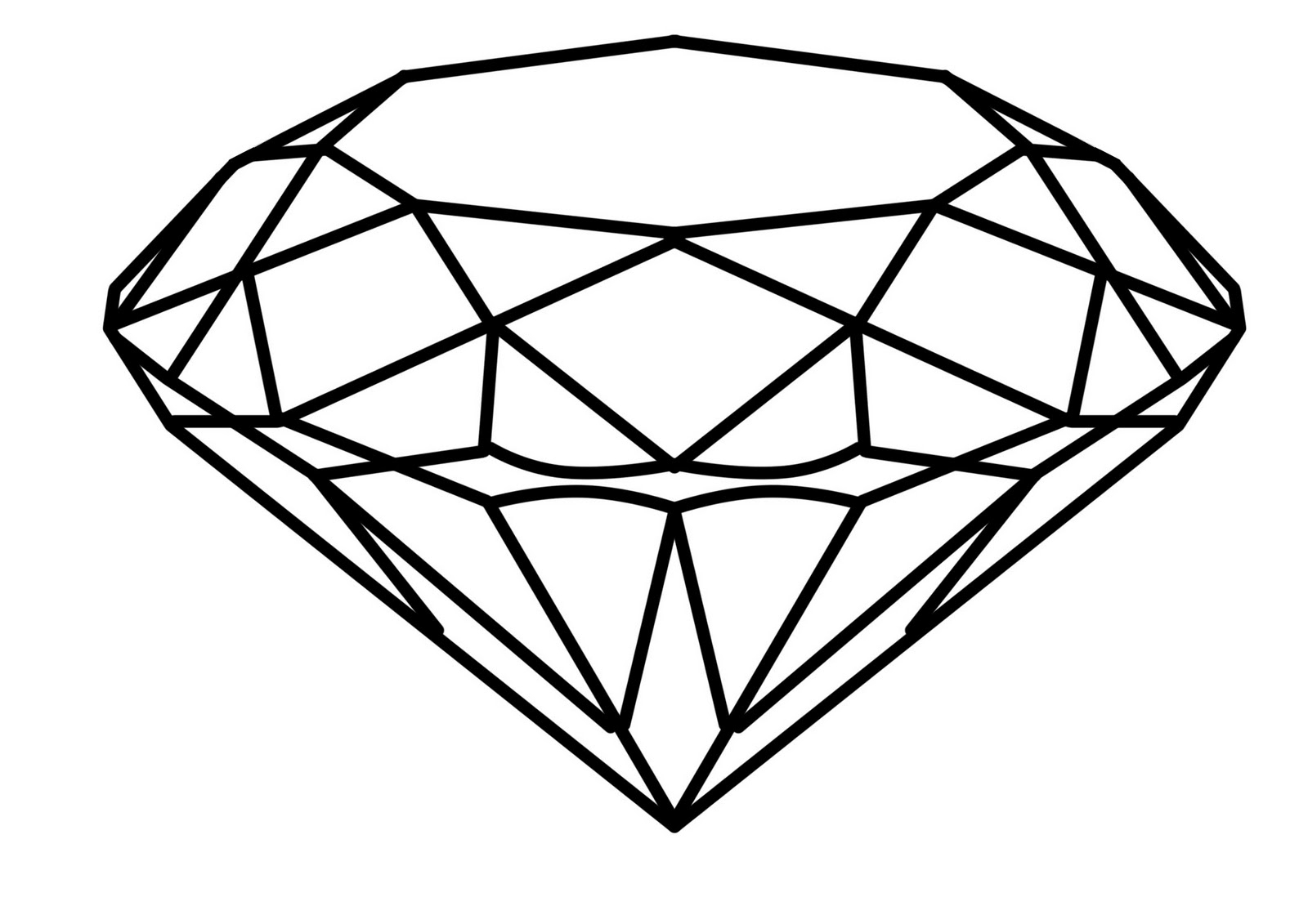 1600x1131 Steps For Drawing A 3d Diamond How To Draw A Minecraft Diamond