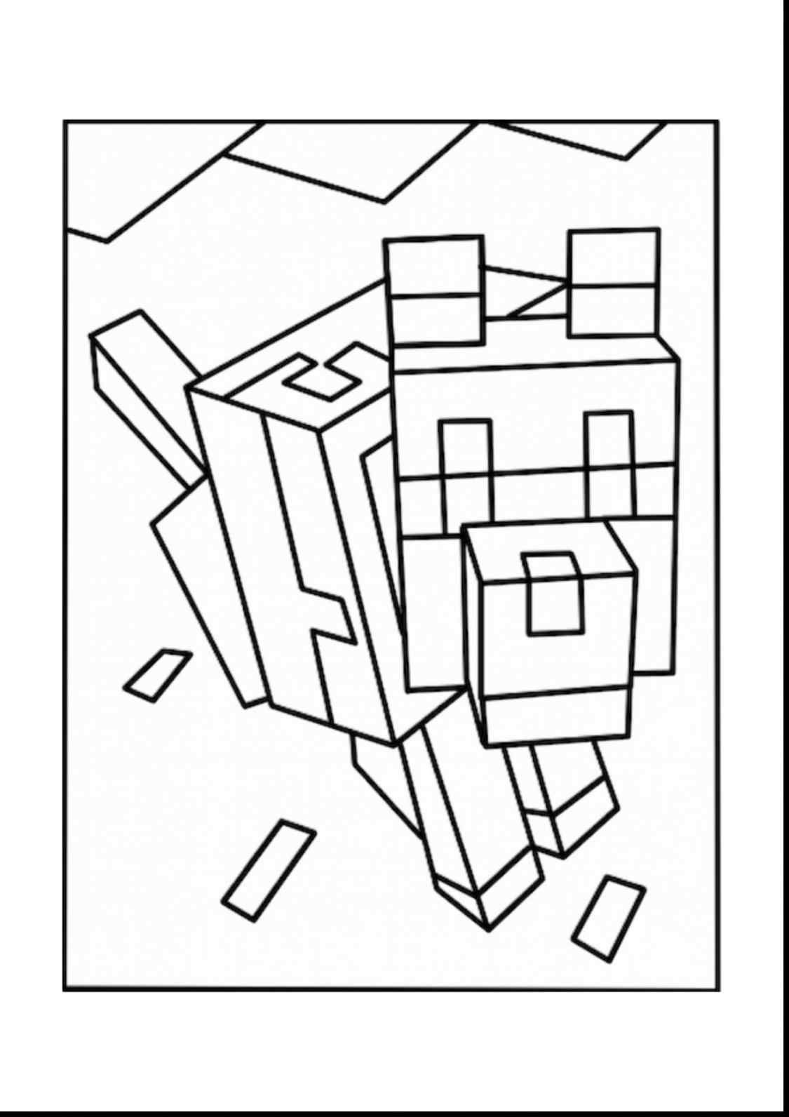 1125x1592 Coloring Pages Minecraft Pig Best Of Minecraft Diamond Minecart