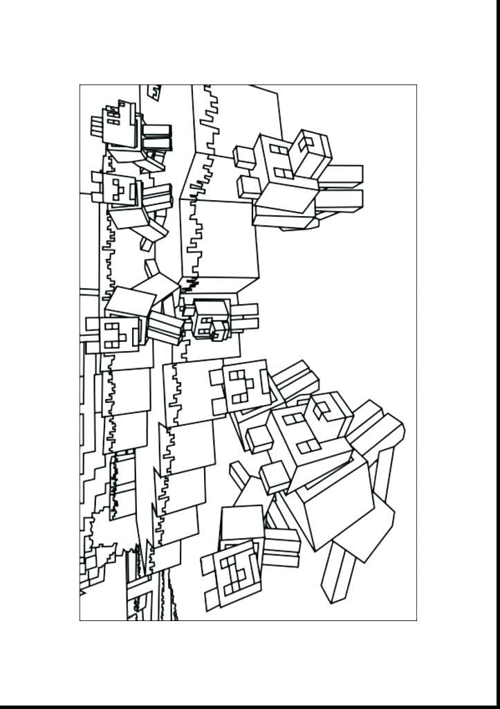 Minecraft Dog Drawing At Getdrawings Com