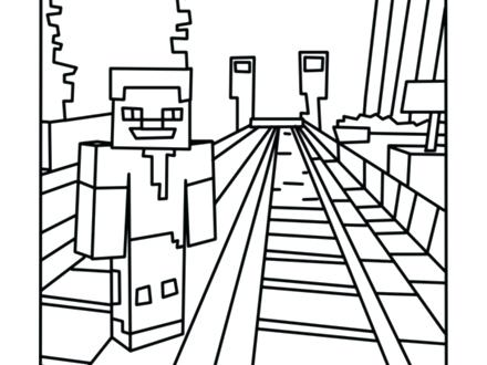440x330 Minecraft Coloring Booksgether With Adorable Coloring Pages