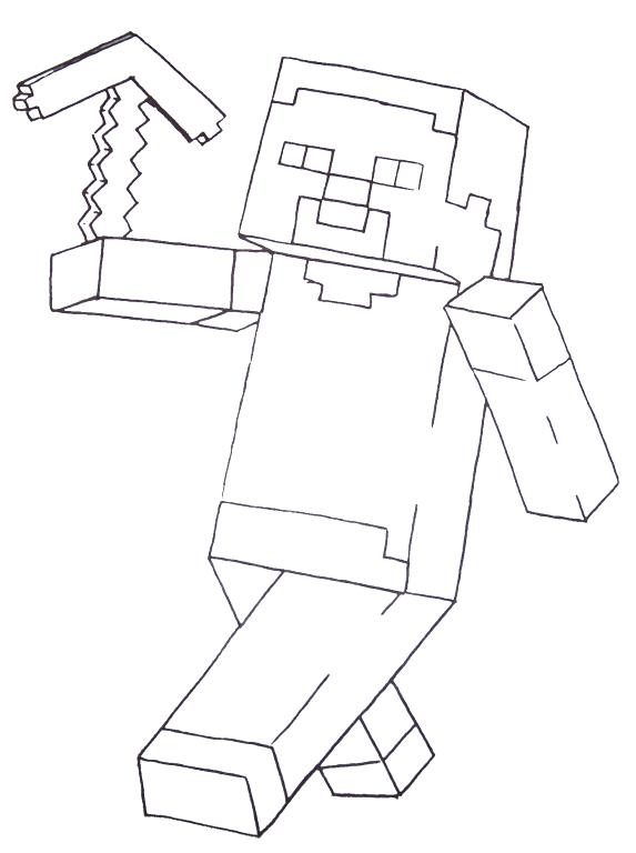 573x768 Minecraft Coloring Pages Mutant Creeper Printable Best Coloring