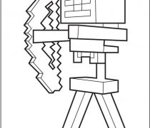 210x180 Creeper Chasing Minecraft Player
