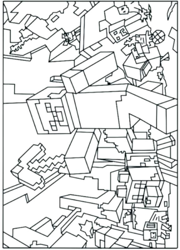 577x803 Best Coloring Pages Of Minecraft Mutant Creeper